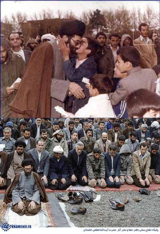 شهیدادواردو آنیلی در نمار جمعه تهران