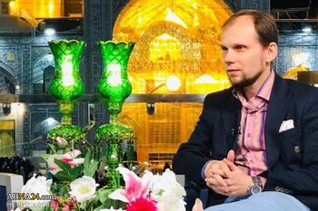 دکتر تاراس-مترجم نهج البلاغه به روسی-برنامه ضیافت الرحمن