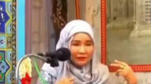 رهرا بانوی تازه مسلمان تایلندی-سوختن در آتش