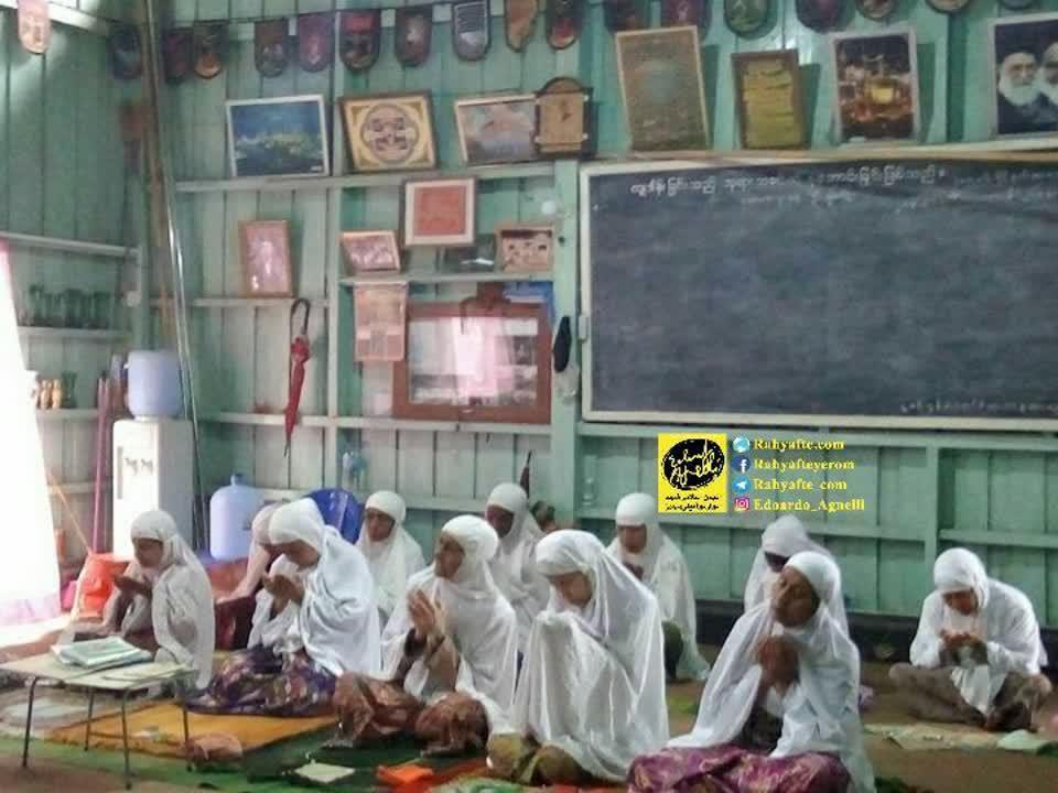 نمازجمعه -میانمار2