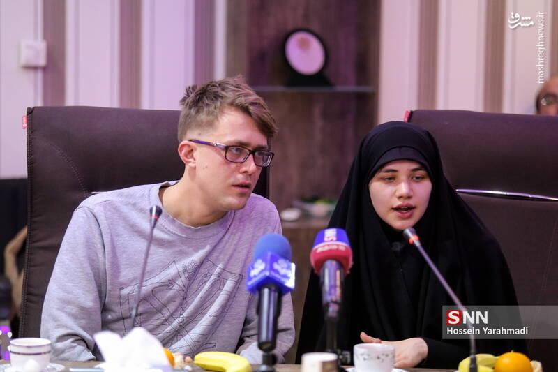 تشرف به اسلام و ازدواج دانشجوی روسی